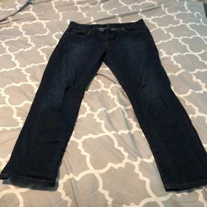 Joe's Jeans - dark wash, straight leg. Size 29